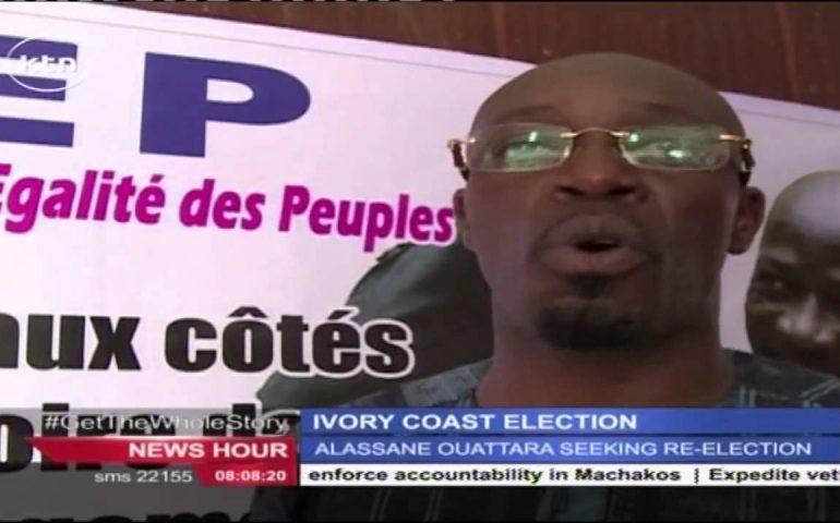 Alassane Quattara is seeking re-election in Ivory Coast