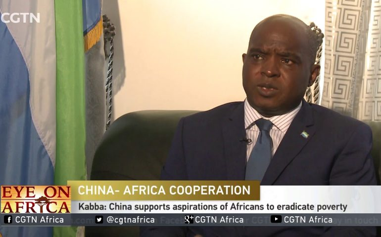 Sierra Leone keen to deepen ties with China