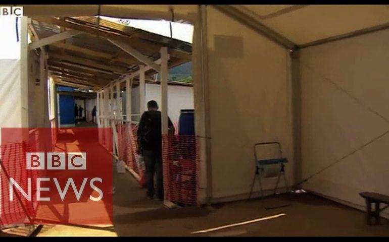 Inside a new Ebola treatment centre in Sierra Leone – BBC News
