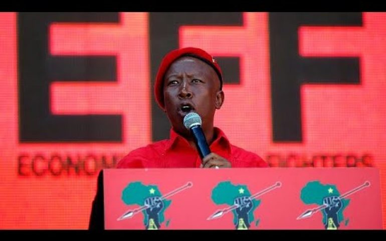 South Africa's opposition EFF promises radical reforms