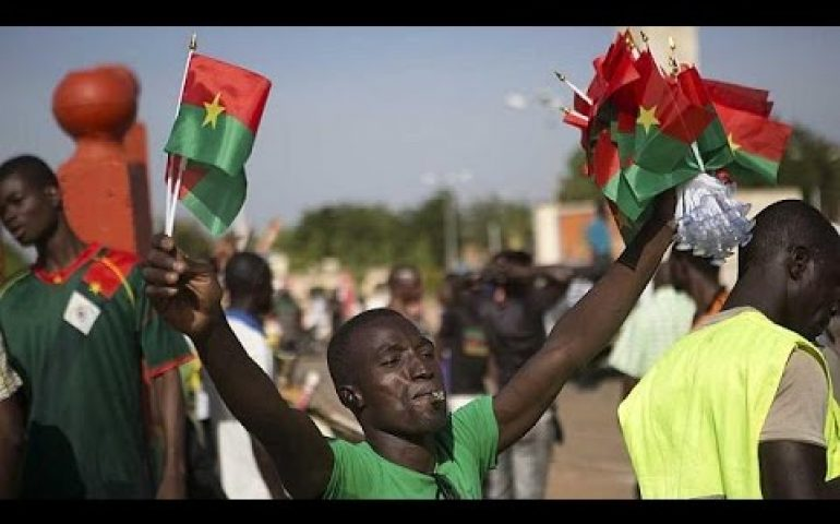 Burkina Faso parliament burned amid protests over power extension