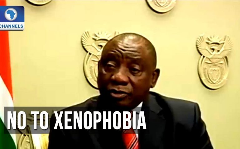 South African President Condemns Xenophobic Attack On Foreigners