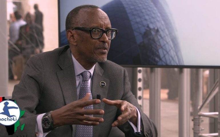 Every African Will be Proud After Watching President Kagame Take Down the EU