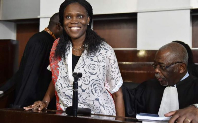 Simone Gbagbo was jailed in 2015
