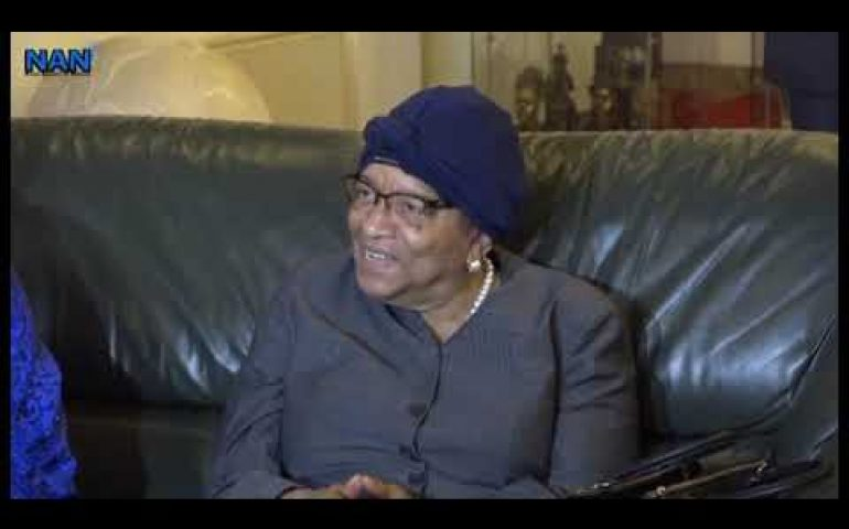 Johnson-Sirleaf heads ECOWAS Observer Mission