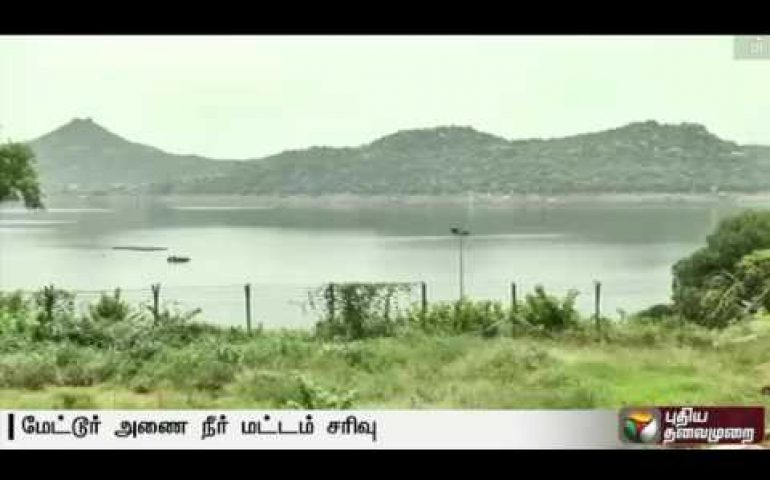 Drought: The water level collapse in Mettur dam