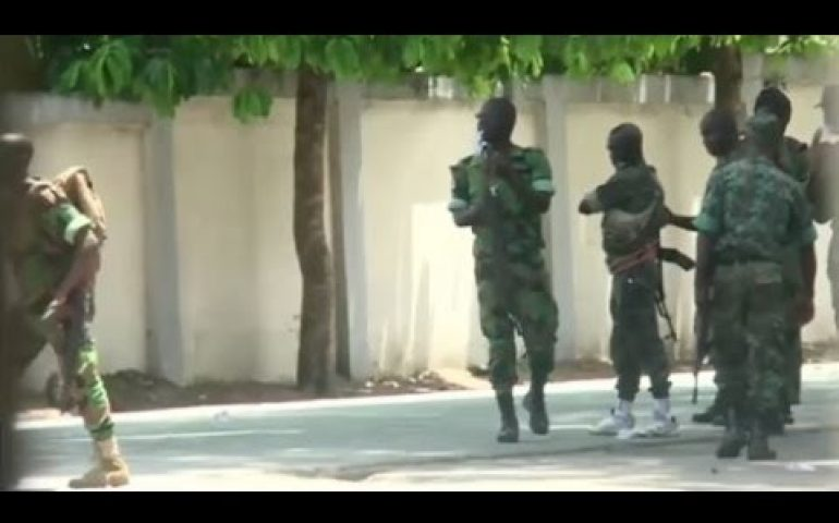 Ivory Coast launches military operation to tackle mutiny