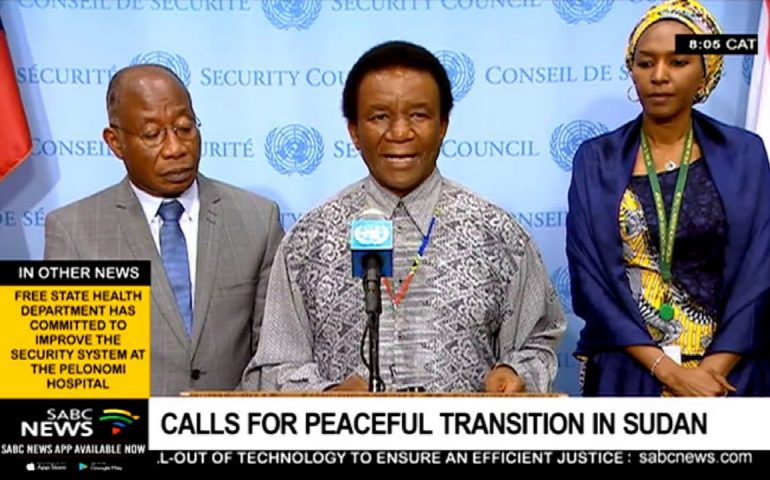 Calls for peaceful transition in Sudan