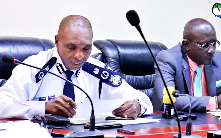 Sierra Leone Police Joint Emergency Security Sector Press Conference – Sierra Network