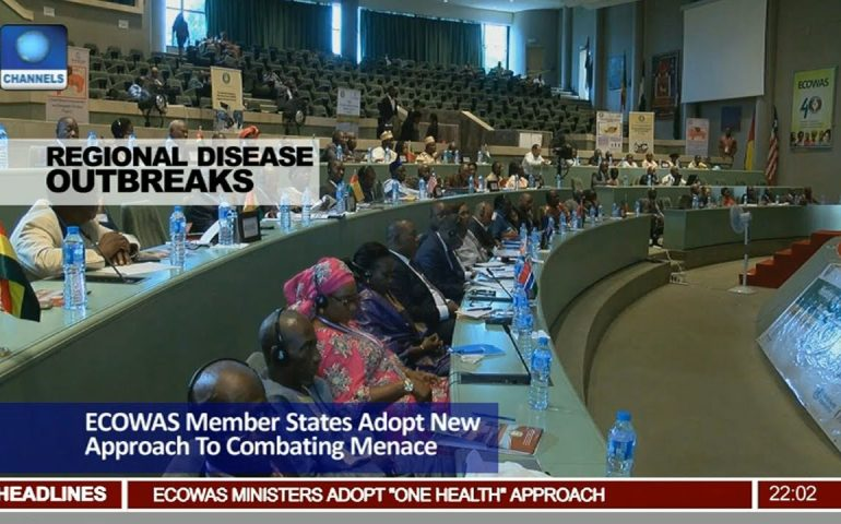 News@10: ECOWAS Member States Adopt 'One Health' Approach 17/06/17 Pt. 1