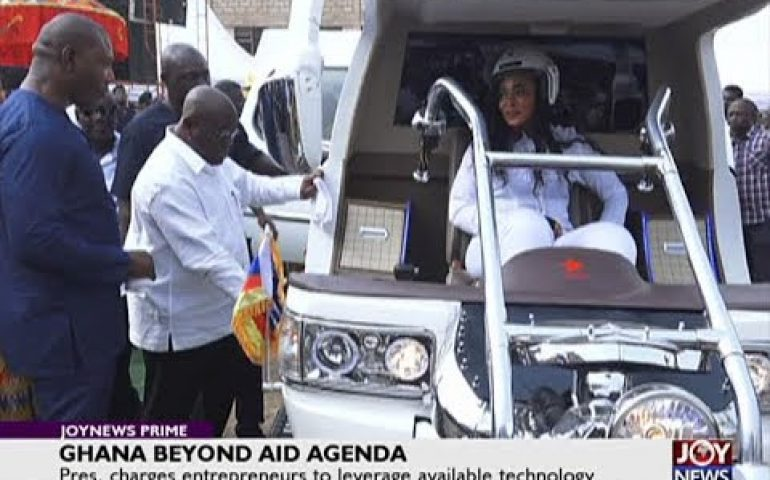 Ghana Beyond Aid Agenda – Joy News Prime (1-1-18)
