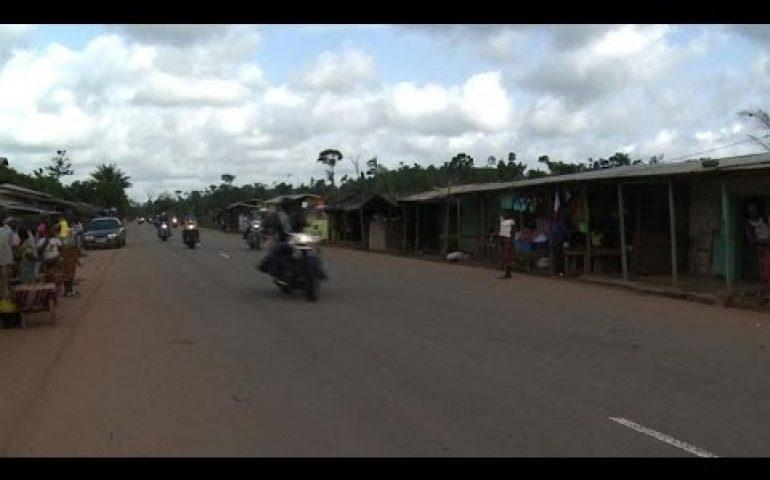 Riding high with Ivory Coast's Elephant Bikers