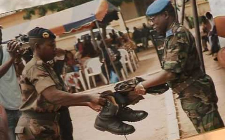 Ivory Coast ex-rebels battle with civilian life