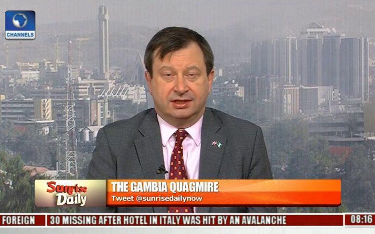 Adama Barrow's Inauguration Is In Line With Gambia's Constitution – Paul Arkwright