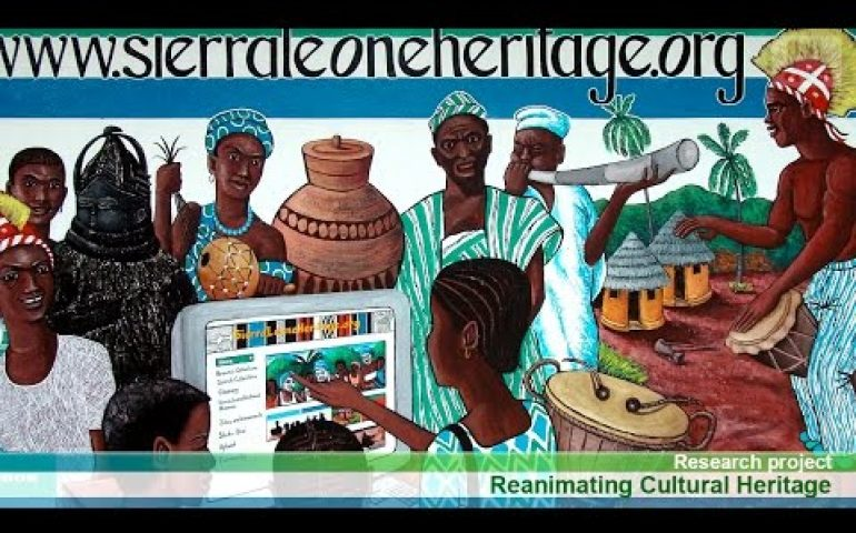 Reanimating Cultural Heritage Project | Brand Sierra Leone News Clip