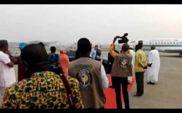 ECOWAS Chairman Arrives Abuja for 2-Days Official Visit to ECOWAS Institutions