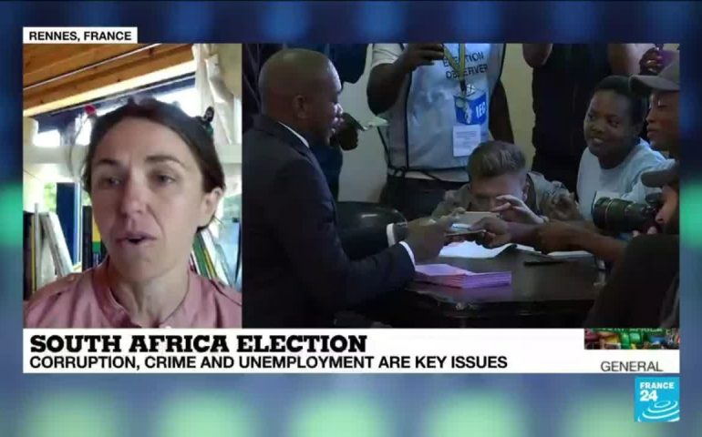 South Africa election: 'The situation is difficult for the ANC'