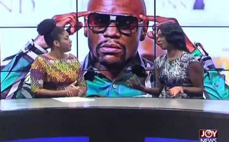 Mayweather's Visit to Ghana – Sports Desk on Joy News (8-6-17)