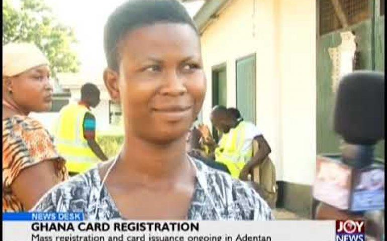 Ghana Card Registration – News Desk on JoyNews (8-11-18)