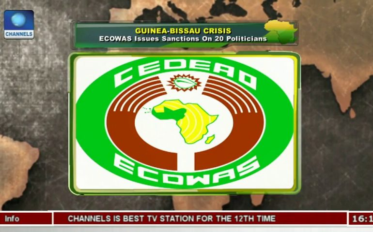 ECOWAS Issues Sanctions On 20 Politicians In Guinea-Bissau |Network Africa|