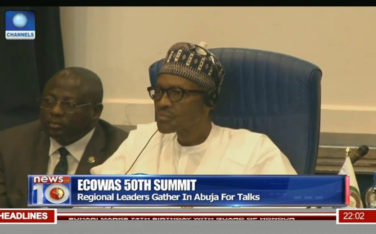 ECOWAS 50th Summit: Leaders Condemn Attacks In Mali, Burkina Faso