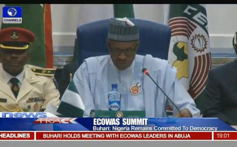 Buhari Calls On African Leaders To Sustain Peace As ECOWAS Summit Begins
