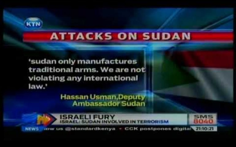 News: Israel fury on Sudan