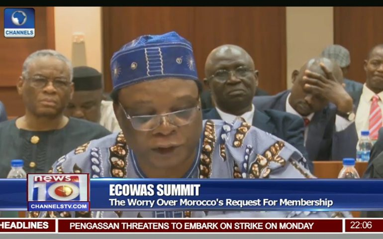 The Worry Over Morocco's Request For ECOWAS Membership