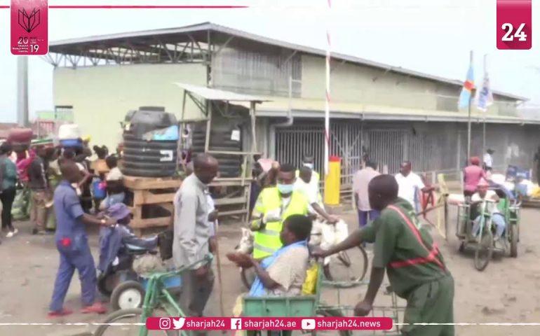 Health check at DR Congo Rwanda border crossing after Ebola death