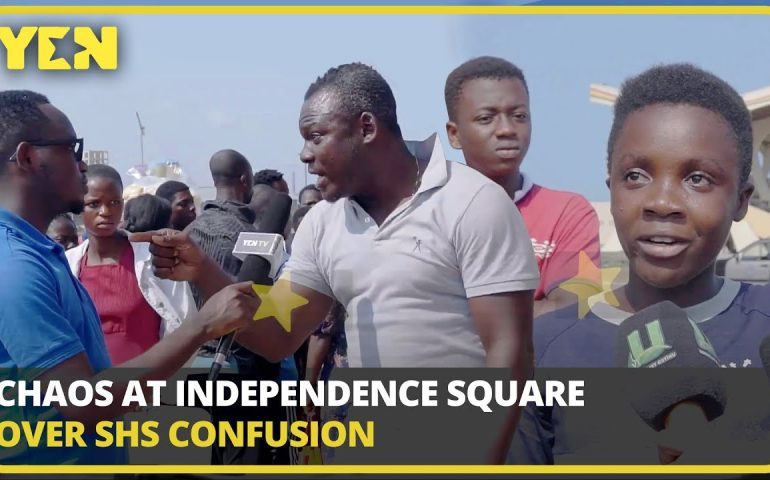 Ghana News Today: 2 collapse at Independence Square over SHS placement confusion | #Yencomgh