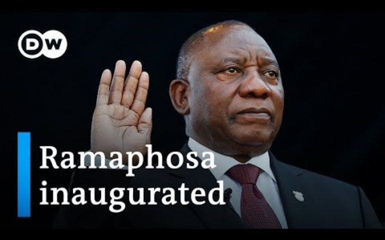 Cyril Ramaphosa sworn in as president of South Africa   DW News