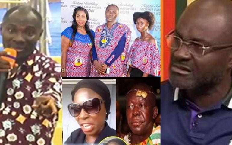 BADU KOBI finally replies KEN AGYAPONG, Queen mother , Wife's div0rce & dɑughter's $ɛx tape