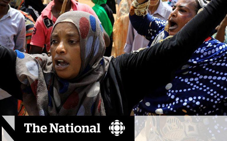 Protesters continue to denounce military rule in Sudan
