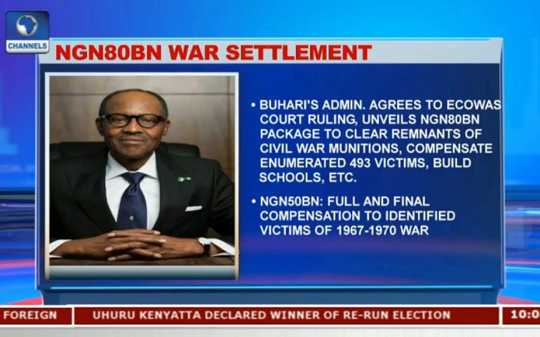 Buhari's Admin. Agrees To ECOWAS Court Ruling, Unveils 80BN Package To Clear Remnants