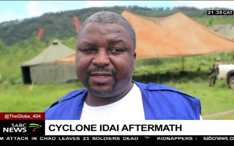 Current situation in Zimbabwe as cyclone Idai rages on