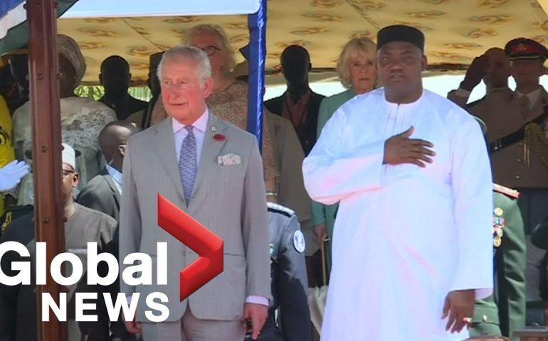 Prince Charles salutes Gambia's return to Commonwealth