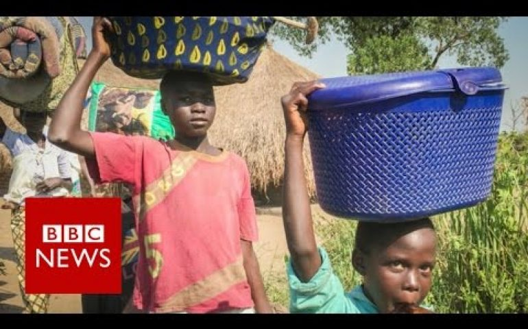 South Sudan Civil War: Refugees flee the atrocities – BBC News
