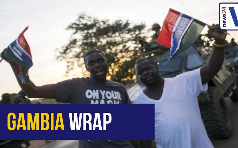 WATCH: Here's what happened in Gambia over the weekend