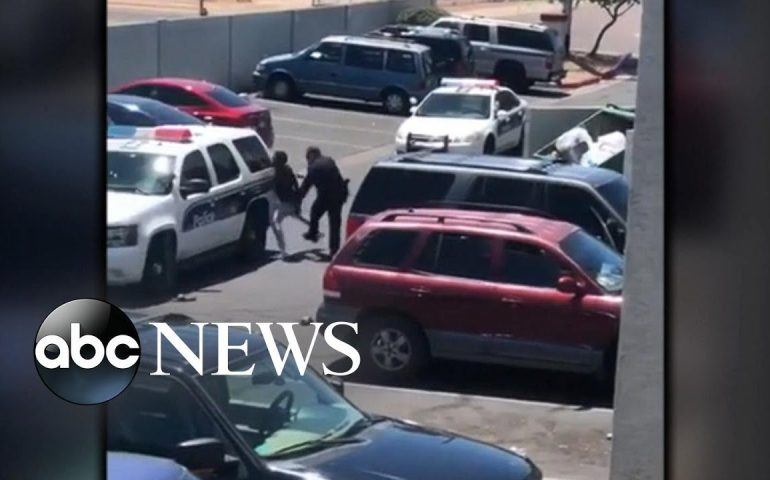 Mayor of Phoenix slams police officers' 'inappropriate and clearly unprofessional' actions