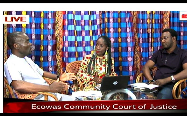 ECOWAS COMMUNITY COURT OF JUSTICE INTERVIEW MARCH 17, 2019 12PM