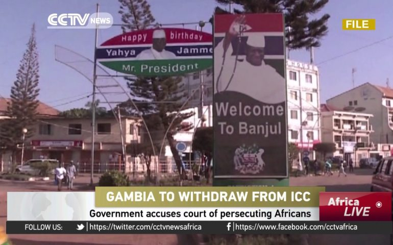 Gambia to withdraw from International Criminal Court