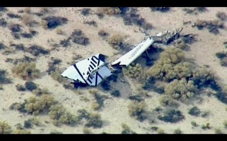 Virgin Galactic spaceship crashes on test flight