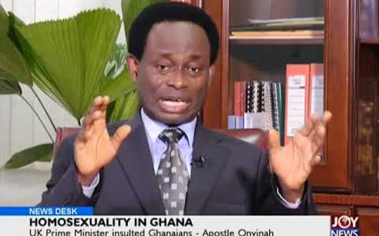 Homosexuality In Ghana – News Desk on JoyNews (23-4-18)