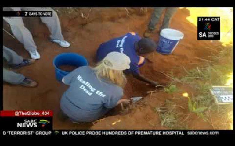 Exhumation of victims of 1980s Zimbabwe massacre underway