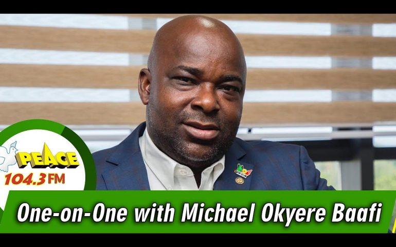 KOKROKOO WITH MICHEAL KOFI OKYERE BAAFI (CEO, GHANA FREE ZONES AUTHORITY)