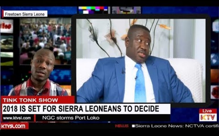 Sierra Leone  2018 Elections tensions