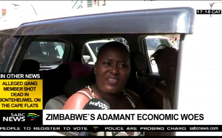 Outrage over Mnangagwa's government as Zimbabwe economy drops