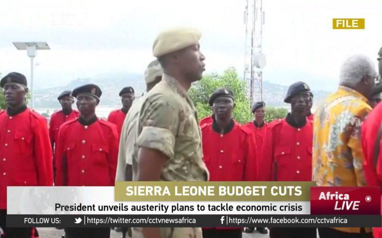 Sierra Leone President unveils austerity plans to tackle economic crisis
