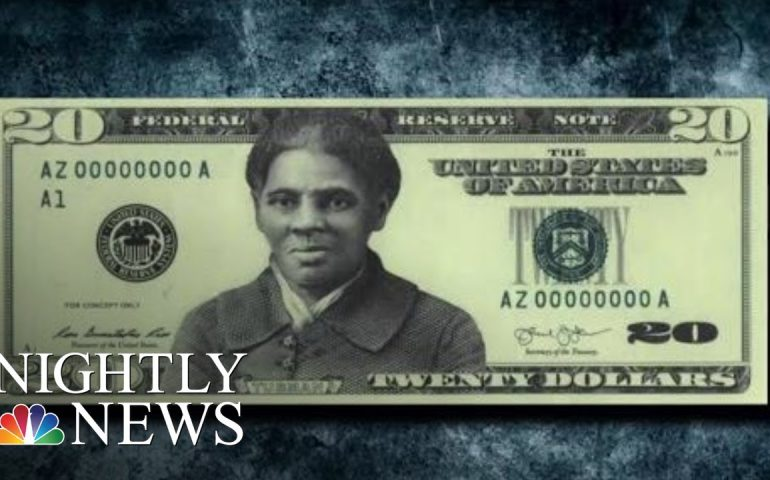 Controversy Over Delayed $20 Bill Featuring Harriet Tubman   NBC Nightly News