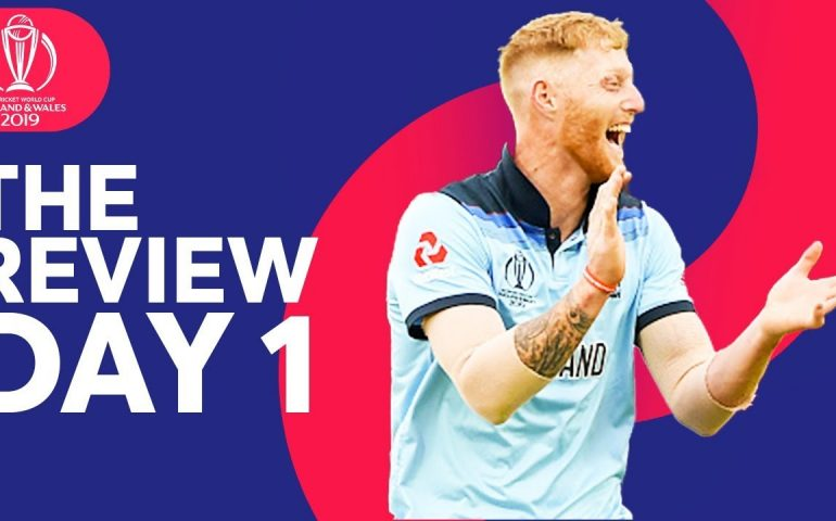 The Review – England vs South Africa | Perfect Start For England! | ICC Cricket World Cup 2019